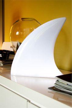 shark lamp.