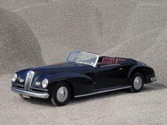 1947 Lancia Astura Convertible Pinin Farina | Lancia Astura 4ª Serie Cabriolet (241) '1947 дизайн Pininfarina