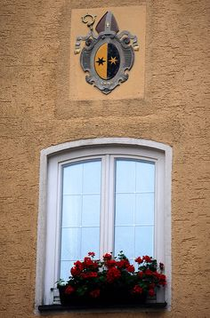 Window With Crest by Bachspics, via Flickr