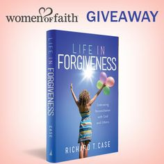 We have 5 signed copies of Life in Forgiveness to give away. Sign up for your chance to win at http://www.womenoffaith.com/sweeps/. Enter by 5/31/14.