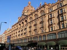 Shopping and Tea at Harrods