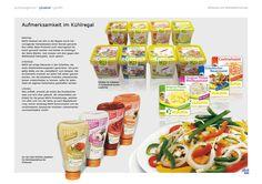 Etiketten machen Salate noch appetitlicher