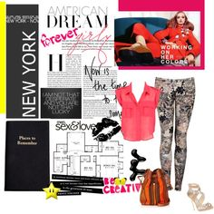 """""""New York fashion"""" by ezza-styles on Polyvore"""