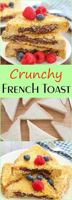 Crunchy French Toast | Kirbie's Cravings