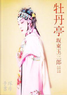 坂東玉三郎 牡丹亭 公演プログラム