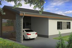 Modern Style House Plan - 2 Beds 1.00 Baths 838 Sq/Ft Plan #906-14 Exterior - Other Elevation - Houseplans.com