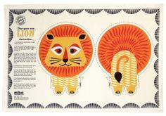 Tea Towel - Lion
