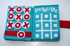 Tic Tac Toe is a must for an older child version with other basic games.