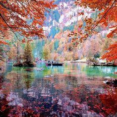 Lake Blausse, Switzerland