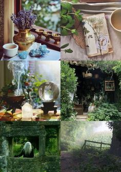 """positivelypagan: """" Cottage Witch Aesthetic """""""
