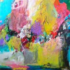 Carnival by DL Watson | acrylic painting | Ugallery Online Art Gallery