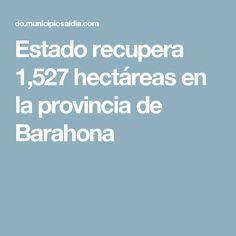 Estado recupera 1,527 hectáreas en la provincia de Barahona