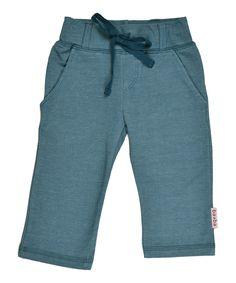 Baba Babywear great straight pants in denim blue. baba-babywear.en.emilea.be