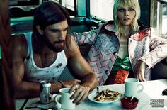 Vogue Brazil September 2014 | Aline Weber by Giampaolo Sgura [Editorial]