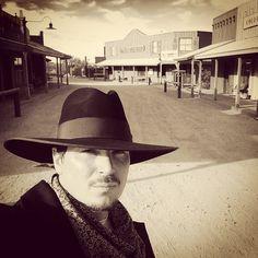Ghost Adventures: Zak Bagans...Wild West selfie.