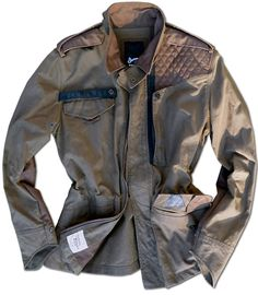 Denham SS11 MEN: SOCIAL  Part WW2 British Field Jacket, Part Motorcycle Touring Jacket