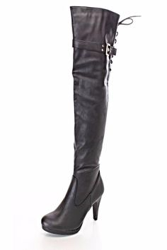 BRANDED Thigh High Boots ($7)
