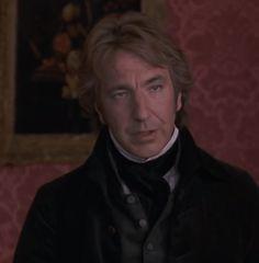 Alan Rickman as Colonel Brandon....so handsome
