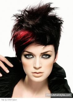 Voguish Short Tapered Haircut http://www.haircutshairstyles.com/voguish_short_tapered_haircut-985.shtml
