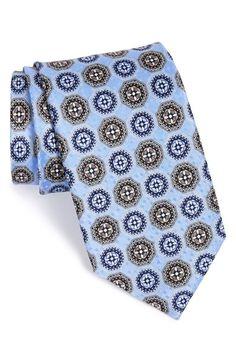 J.Z. Richards Medallion Silk Tie