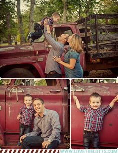family pictures with old truck - Google Search
