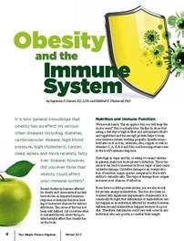 """""""Obesity and the Immune System"""" - from the Winter 2013 issue of """"Your Weight Matters Magazine."""""""