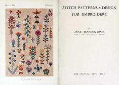 Some Free Embroidery & Needlework Books – Online Sources