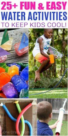 Water Activities for kids- 25 Fun Water Activities for Kids