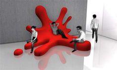 Blob Sofa by David Genin