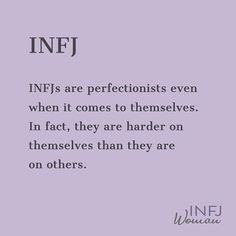 Posted by (Sarah Kuhn INFJ Woman) Constantly searching for ideas on how to be better. Infj Traits, Infj Mbti, Intj And Infj, Isfp, Mbti Personality, Myers Briggs Personality Types, Personalidad Infj, Infj Type, Introvert Problems