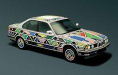 1991 BMW 525i Art Car by Esther Mahlangu - coolest car ever!!