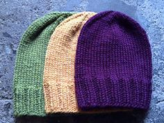 Ravelry: Quick Stocking Hat pattern by Hill Vintage and Knits
