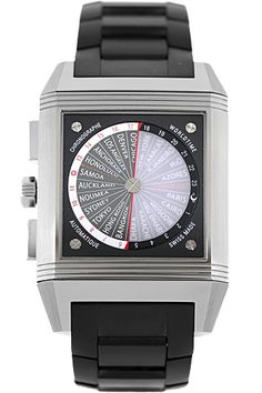 WANT: Jaeger-LeCoultre  Titanium Reverso Squadra World Time LE Automatic