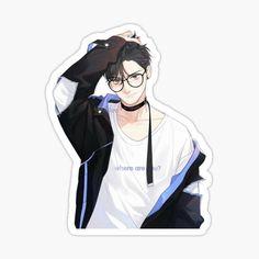Manga Anime, Manhwa Manga, Otaku Anime, Anime Guys, Anime Stickers, Kawaii Stickers, Cute Stickers, Anime Korea, Korean Anime