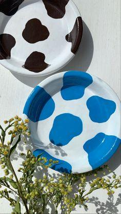 Ceramic Pottery, Pottery Art, Ceramic Art, Clay Plates, Clay Art Projects, Creation Deco, Cute Clay, Clay Design, Dry Clay