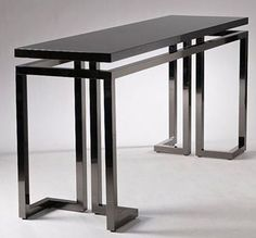 Versace Home Collection Welded Furniture, Industrial Design Furniture, Iron Furniture, Steel Furniture, Rustic Furniture, Table Furniture, Furniture Makeover, Home Furniture, Furniture Design