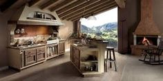 Risultati immagini per cucine finta muratura
