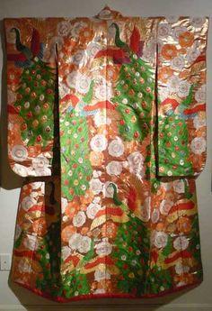 Peacock Wedding Kimono
