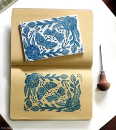 "492 Likes, 3 Comments - Elise young Uhm (@bloomingprint) on Instagram: "" . . . . . . #blockprint #blockprinting #printmaking #printmaker #handprinted #handcarved…"""