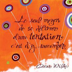 "Carte postale calligraphiée ""Tentation"" par MarinePSM #calligraphie #citations"