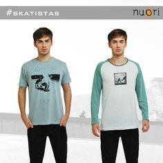 Camisetas masculinas #skate