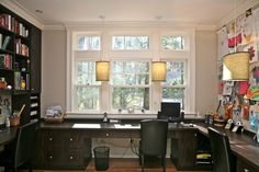 Custom Home office - contemporary - home office - boston - Marie Newton, Closets. Custom Home office – contemporary – home office – boston – Marie Newton, Closets Redefined Mesa Home Office, Home Office Desks, Home Office Furniture, Attic Office, Dark Furniture, Space Furniture, Transitional Living Rooms, Transitional Decor, Transitional Kitchen