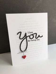 """I LOVE this new set of stamps and die from Simon Says Stamp's Stamptember® release, YOU ... they all combine for one amazing must have sets!! I love the coordinating sentiments that go with this """"Yo                                                                                                                                                     Más"""