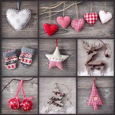Christmas Collage Weihnachts BastelInspiration