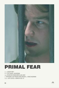 Iconic Movie Posters, Minimal Movie Posters, Cinema Posters, Iconic Movies, Film Posters, See Movie, Film Movie, Primal Fear, Film Poster Design