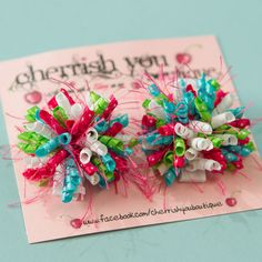 images of hair bows for little girls | Mini Korker Hair Bows - Baby Girl Hair Bows - Toddler Hair Bows ...