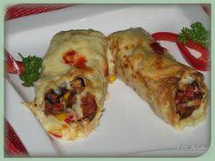 Domowa kuchnia Aniki: Naleśniki meksykańskie
