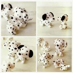 Dalmatian Dogs Amigurumi Soft Toy Free Japanese Crochet Patterns Download
