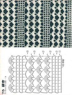 Artmanuais technical crafts moulds for crafts step by step Crochet Diagram, Crochet Chart, Crochet Motif, Crochet Lace, Tutorial Crochet, Crochet Flower Patterns, Crochet Stitches Patterns, Knitting Patterns, Gilet Crochet