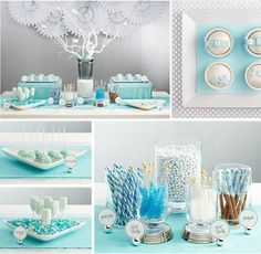 dessert table pictures | Table Linens and Twinkle Lights: Dessert Bar